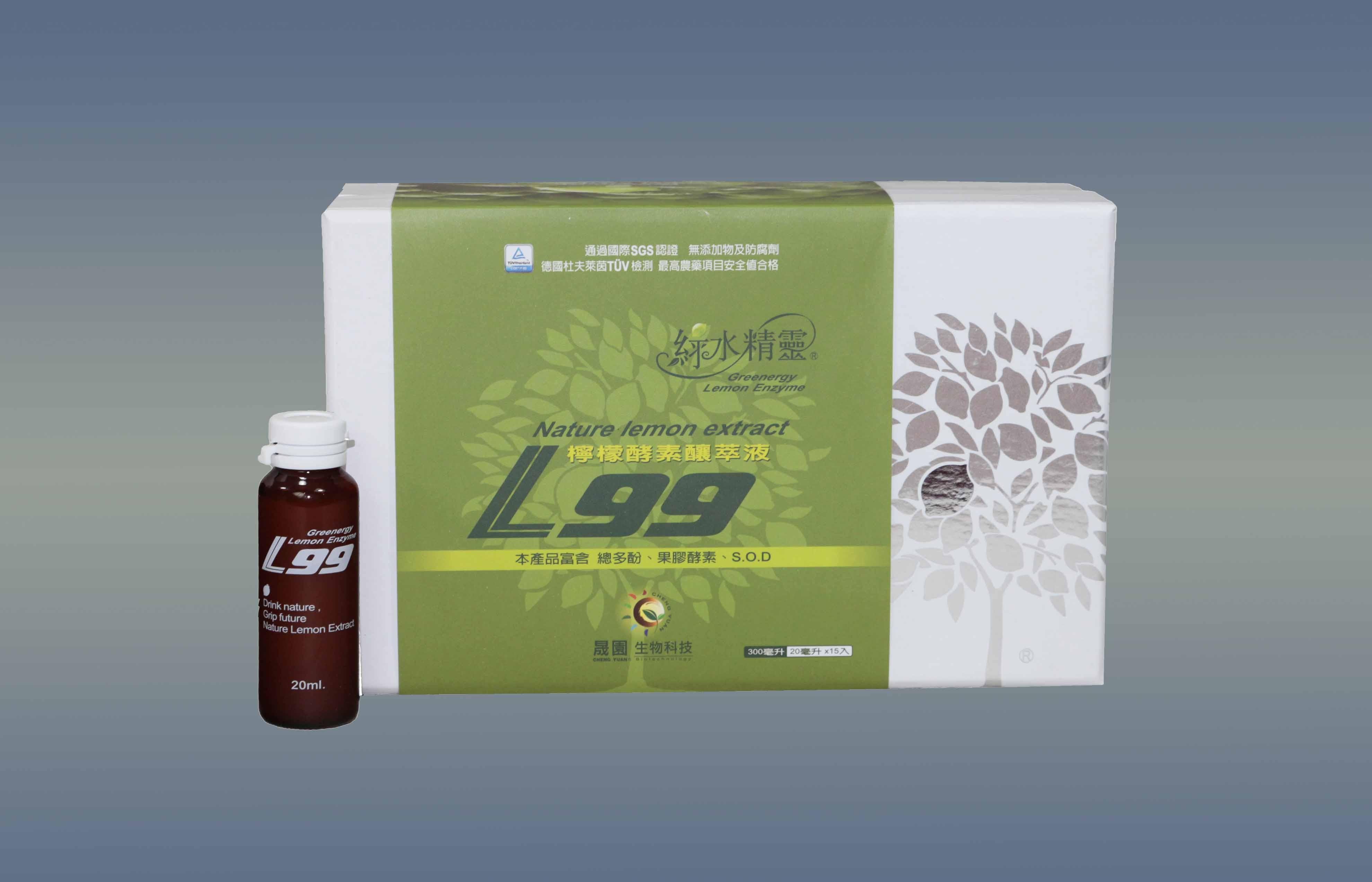~綠水精靈~L99檸檬酵素釀萃液 禮盒